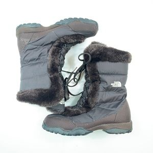The North Face Faux Fur lined Down Filled Boots